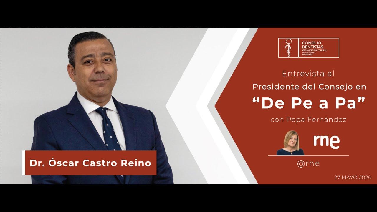 """Entrevista al presidente del Consejo en """"De Pe a Pa"""" de RNE"""