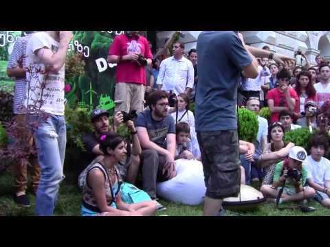 Dub Fx / CAde / Flower Fairy in Tbilisi Street Performance