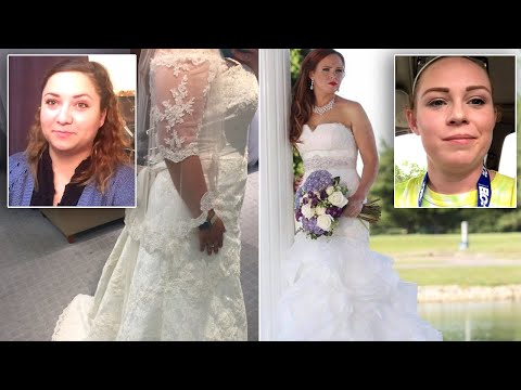 Thumbnail: Former Brides Rescue Future Brides From Dress Distress in Alfred Angelo Closure