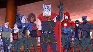 Марвел | Мстители: Революция Альтрона | Серия 13 Сезон 3 - В будущее