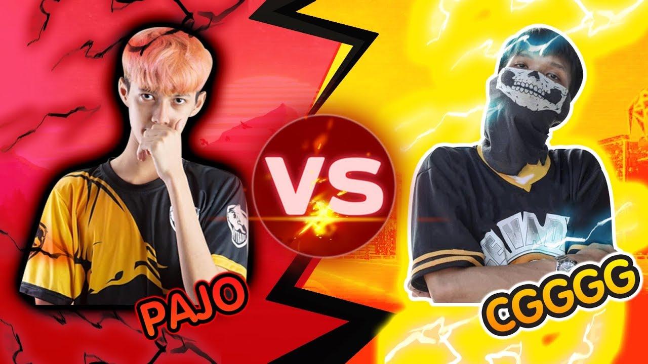 Free Fire !! PAJO VS CGGG ดวลกับราชาฟีฟาย