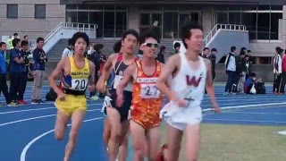 日体大記録会 男子5000m 第16組 2016年5月15日