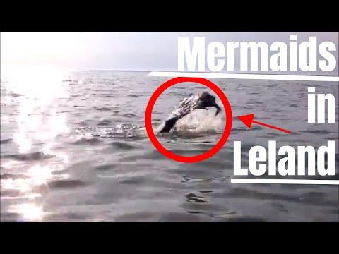Leland, Michigan (Leelanau County) Real Fresh-Water Mermaid Sighting at Van's Beach (07-29-2018)