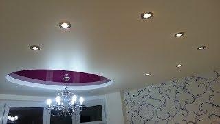 видео Сатиновые натяжные потолки: цвет, отзывы, фото, цена