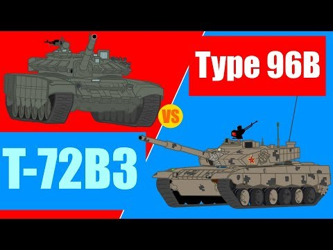 T-72B3 Vs Type 96B - Tank Arena Episode 2.