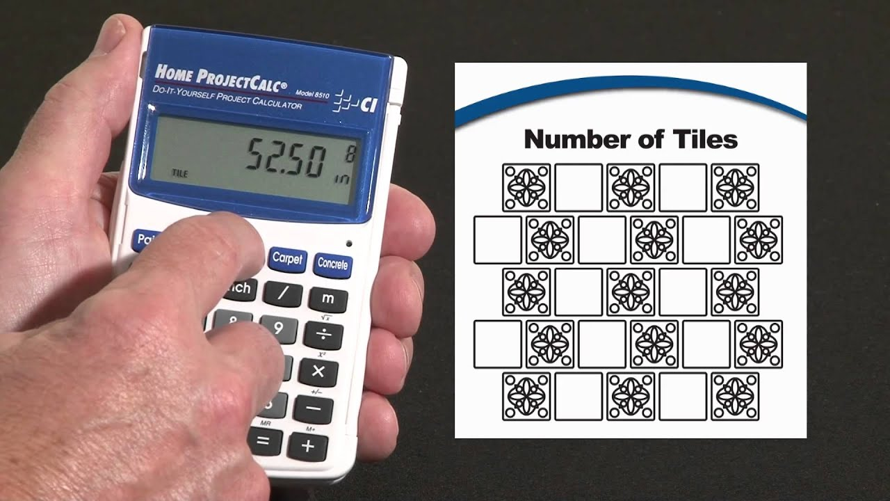 Home projectcalc tile calculations how to youtube home projectcalc tile calculations how to dailygadgetfo Images