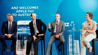 anz welcomes apple pay to australia