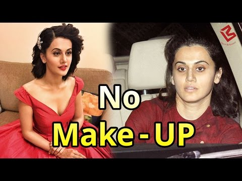 OMG Without Make-UP पहचान में नहीं आयी Taapsee Pannu