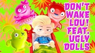 UglyDolls Movie Don't Wake Daddy Game! W/  Moxy, Lucky Bat & Lou