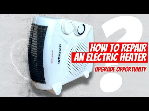 🛠 DIY How to Repair an Electric Heater: Heater Doesn't Work