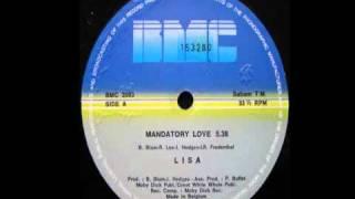 Lisa   Mandatory Love maxi 1984