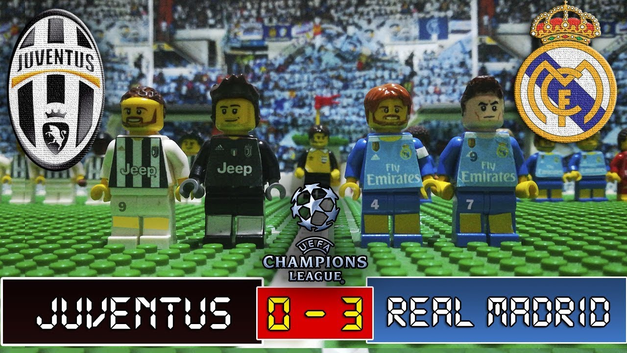 Juventus 0 3 Real Madrid Lego Champions League Cuartos De