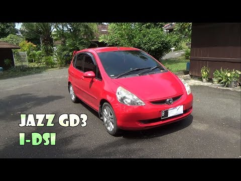 Review Honda Jazz I-dsi GD3 Manual Tahun 2004