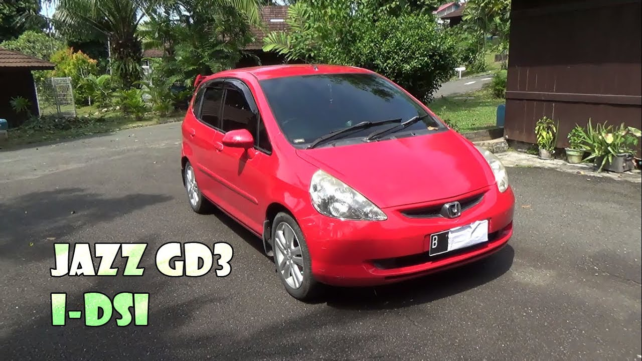 Review Honda Jazz I Dsi Gd3 Manual Tahun 2004 Youtube