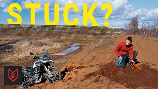 5 Tricks to Rescue a Stuck Motorcycle