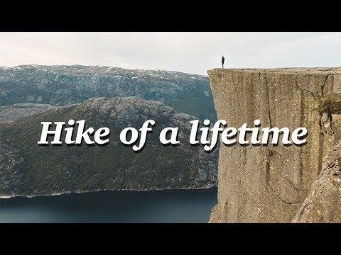 PULPIT ROCK (PREIKESTOLEN) HIKE, NORWAY - you won't believe this place 😱
