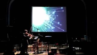 Mari Kimura: Eigenspace for Augmented Violin and Interactive Graphics (2011)