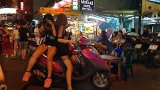 Saigon downtown, Tây ba lô Bùi Viện,đêm 25 tháng Chạp, Tết Đinh Dậu