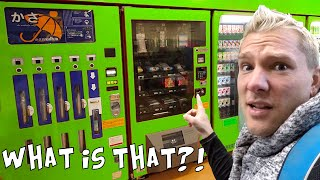 THE WEIRDEST VENDING MACHINES IN JAPAN