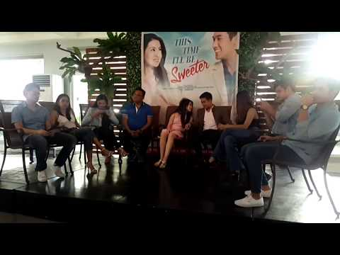 This Time I'll Sweeter Movie Blogcon with Philippines GMA kapuso network Barbie Forteza & Ken Chan