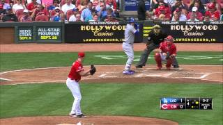 Cincinnati Reds   Los Angeles Dodgers 27 08 15