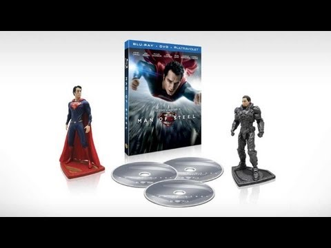 'Man of Steel' Blu-Ray Available For Pre-Order