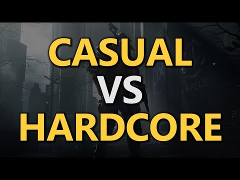 Casual vs Hardcore