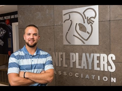 Garrett Wooddell at the NFL Players Association