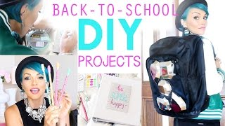 Fun Back To School DIY Projects Thumbnail