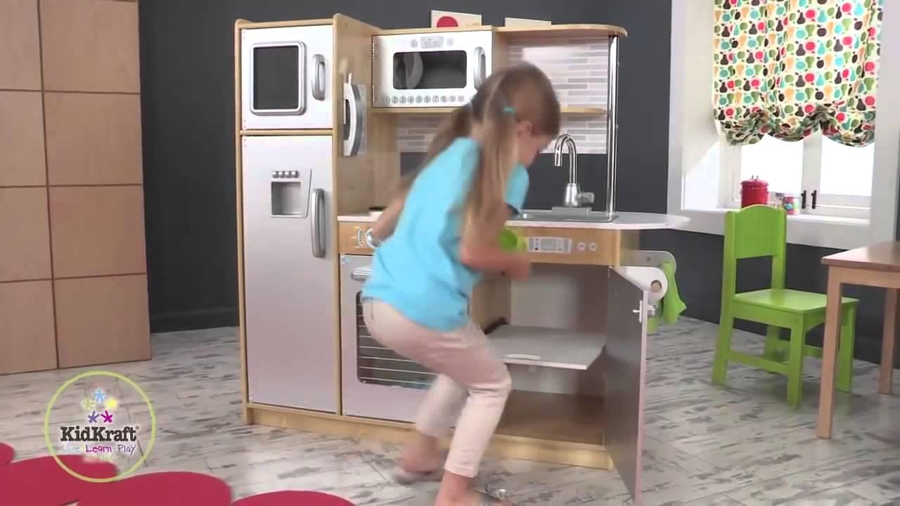kidkraft uptown natural kitchen | 53298 - youtube