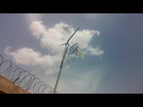 Homemade wind turbine in nigeria
