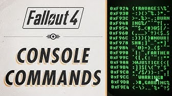 Fallout 4 - Console Commands & Cheats