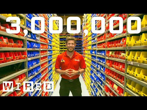 3 Million LEGO Bricks in One Room!