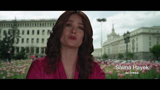 Salma Hayek,  Antonio Banderas and Sylvester Stallone - Bulgaria