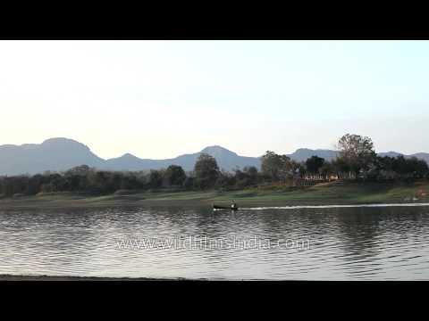 Scenic valley of Satpura with Denwa River