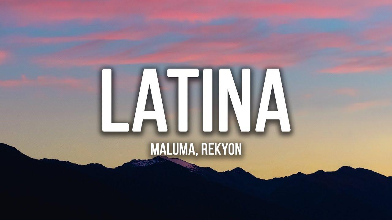 Download Reykon, Maluma - Latina (Lyrics / Letra)
