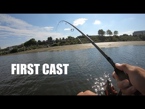 Potomac River Bass Guide Catches Miracle Fish