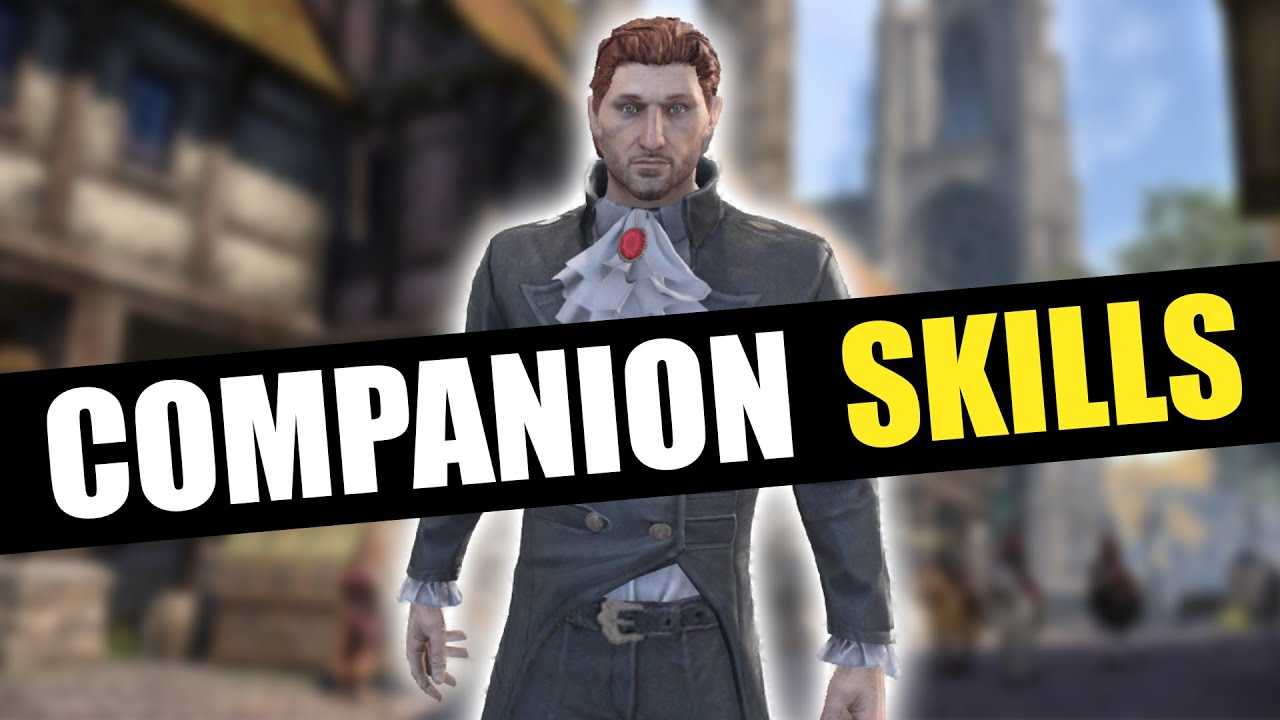 ESO Companions Skills Showcase ⚔ ALL Tank, Healer, DPS, Weapon & Guild Skills!! ESO BLACKWOOD