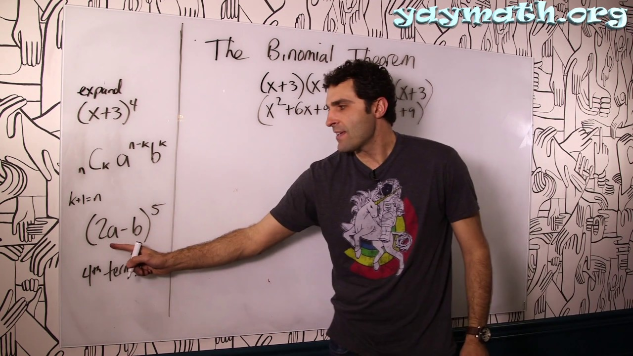 Algebra 2 – The Binomial Theorem
