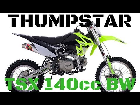 Thumpstar - TSX 140cc BW - Unboxing and First Start Up