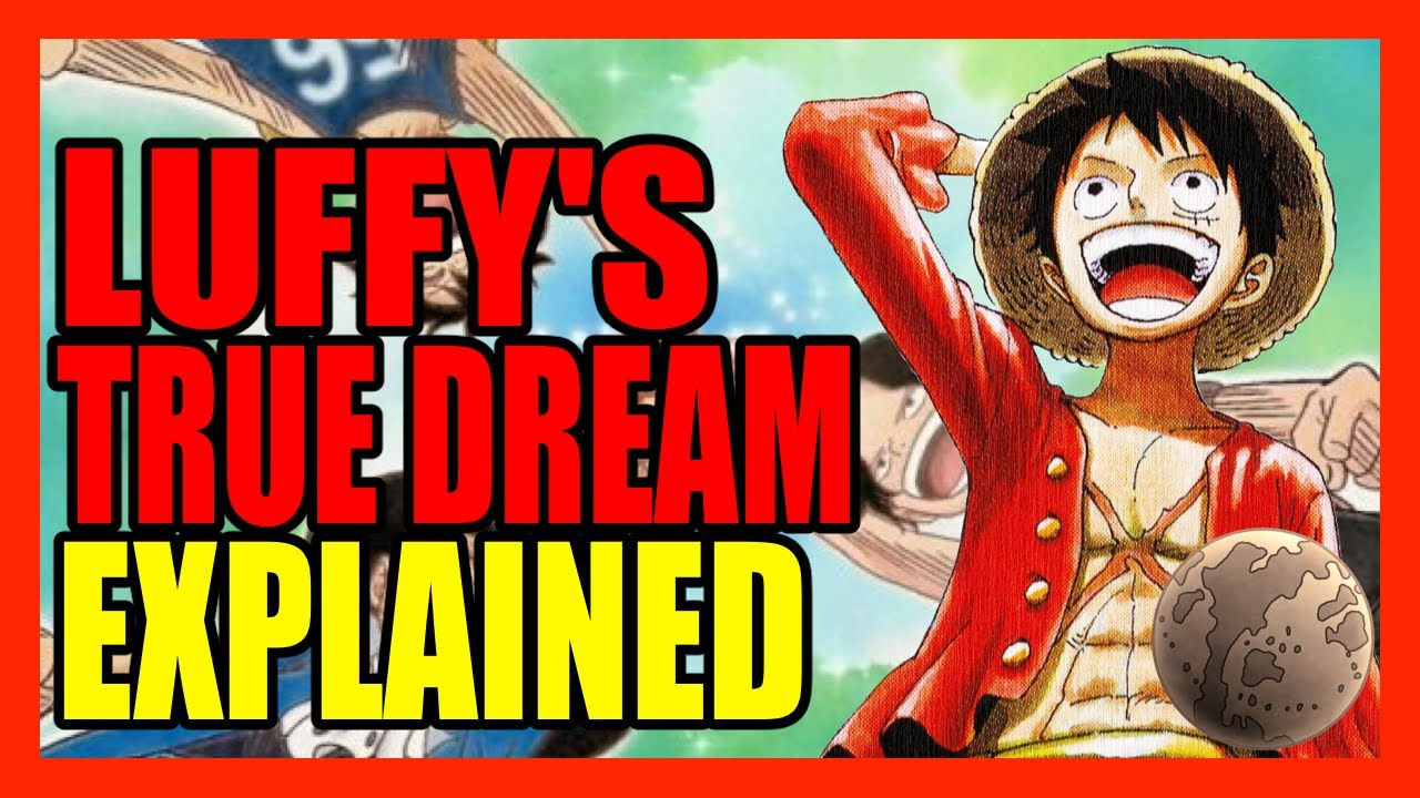 As the founder and captain of the straw hat pirates, he is the first. What Is Luffy S True Dream Oda Already Told Us One Piece Chapter 1000 Mega Theory Youtube