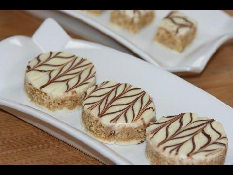 Gateaux secs au chocolat blanc