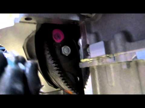 Installing torque converter to flex plate pt1