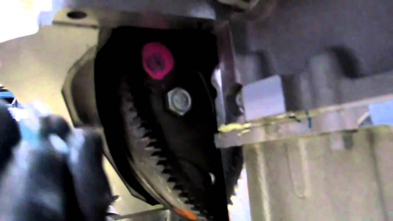 Installing torque converter to flex plate pt1  YouTube