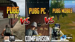 Download Pubg Pc Lite Vs Pubg Mobile Emulator Comparison