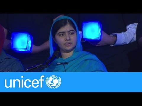 Malala addresses UN General Assembly | UNICEF