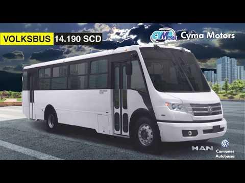 Autobús 14.190 SCD Ideal para el mercado mexicano.🇲🇽🚌