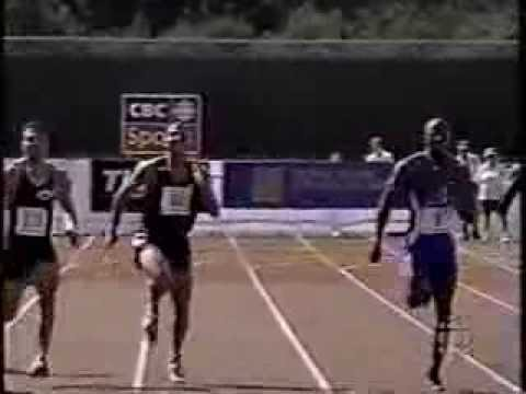 1998 Canadian Track and Field Championships (200m Final) - Montreal, Quebec