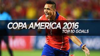 Top 10 Goals ● Copa America Centenario 2016