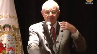 Inauguración Conferencias Magistrales en la UNMSM y ponencia del Dr. Pedro Pablo Kuczynski